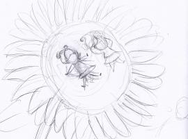 sunflower scene small