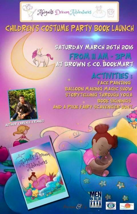 Abigail's Dream Adventures Costume Party/ Book Launch!!!